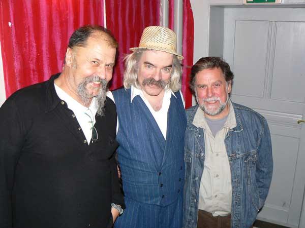 Alf List und WoSch mit Vince Webert bei der BB-Night 2008 im Scala