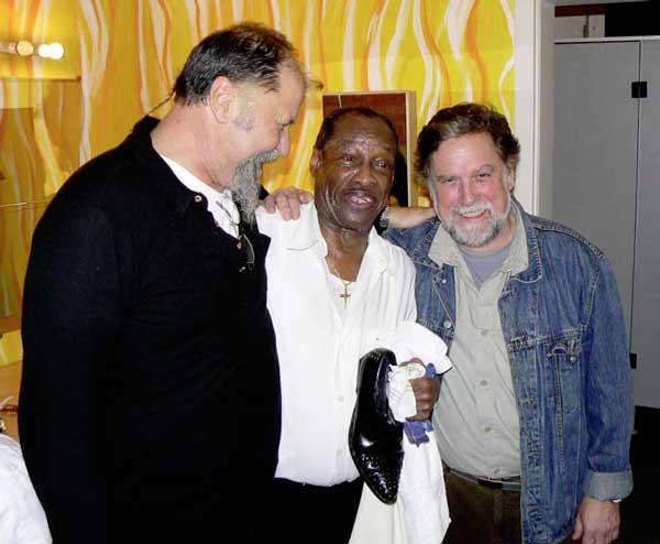 Alf List, Little Willie, Wolfgang Schmidt bei der 1. StoMo Blues & Boogie Night 2008